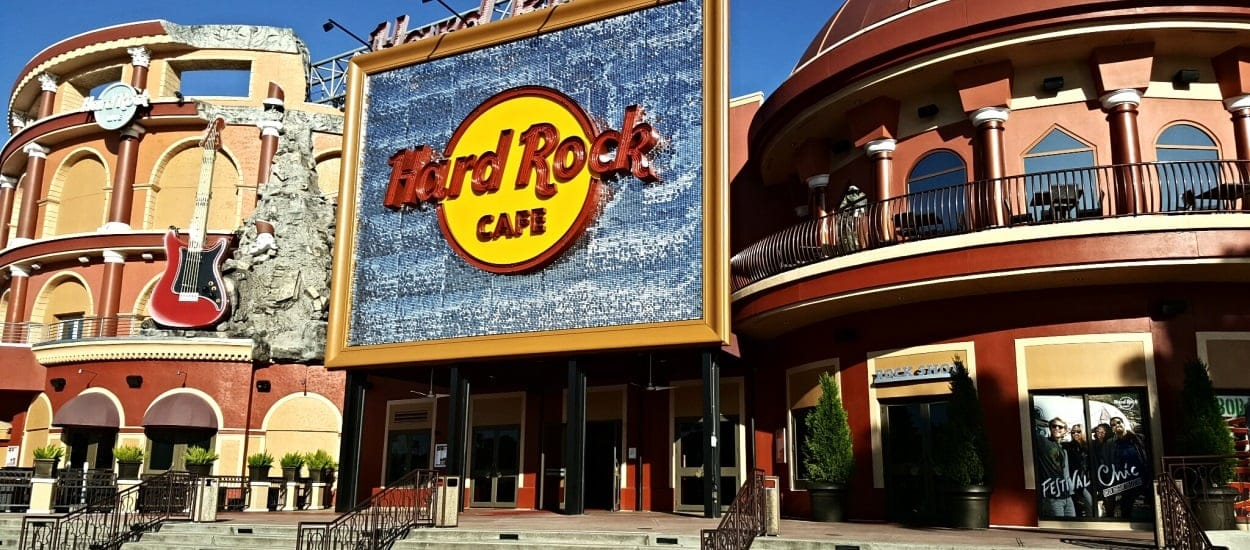 Hard Rock Cafe Near Disneyland
