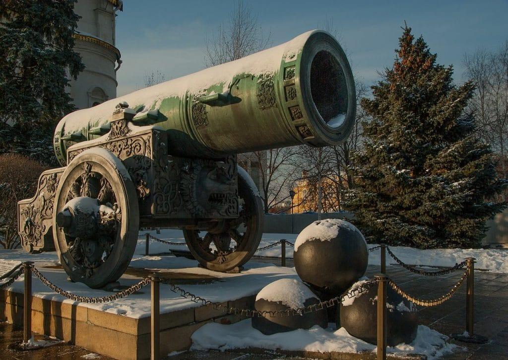 Canhão_pontos turísticos da Rússia