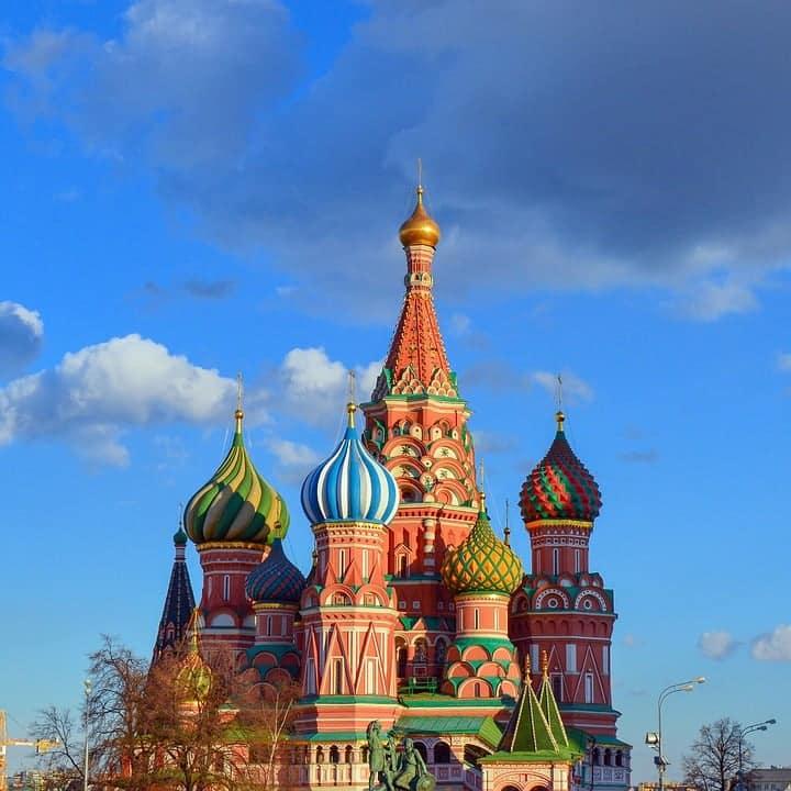 Catedral de São Basílio_Pontos turísticos da Rússia