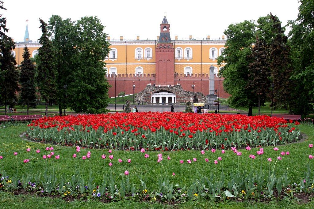 Jardim de Alexandre_pontos turísticos da Rússia
