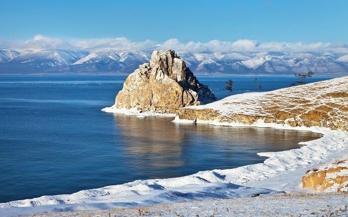 Lake Baikal Siberia Pontos Turísticos Da Rússia