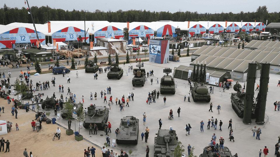Parque patriota-pontos turísticos da Rússia