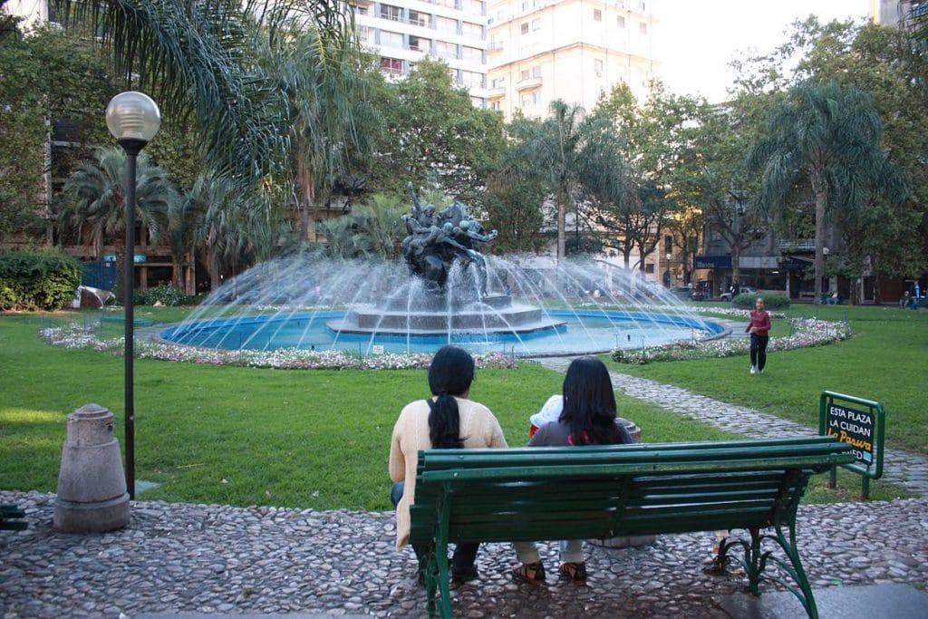 Plaza Entrevero-o que fazer em Montevidéu