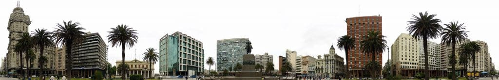 Praça de armas - Montevidéu-prédio históricos-o que fazer em Montevidéu