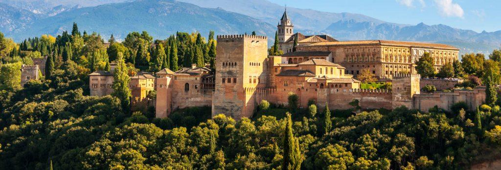 alhambra - pontos turísticos da Espanha