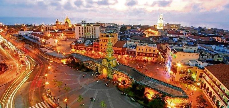 Ciudad Amurallada Turismo Na Colômbia
