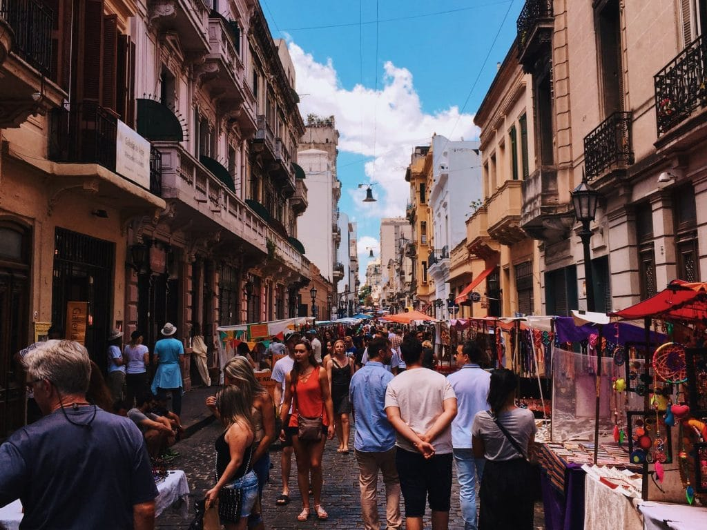 Feira San Telmo Buenos Aires
