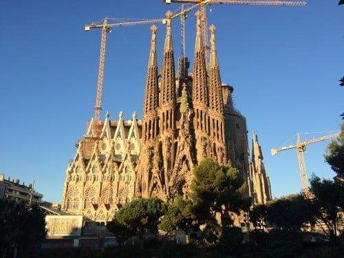 sagrada familia - pontos turísticos da Espanha