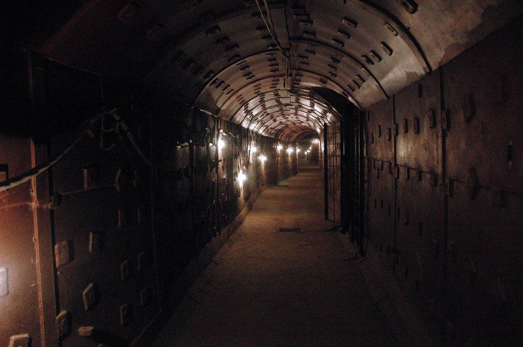 túneis-Bunker 42-pontos turísticos da Rússia