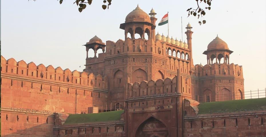 Forte Vermelho Pontos Turísticos Da Índia Min