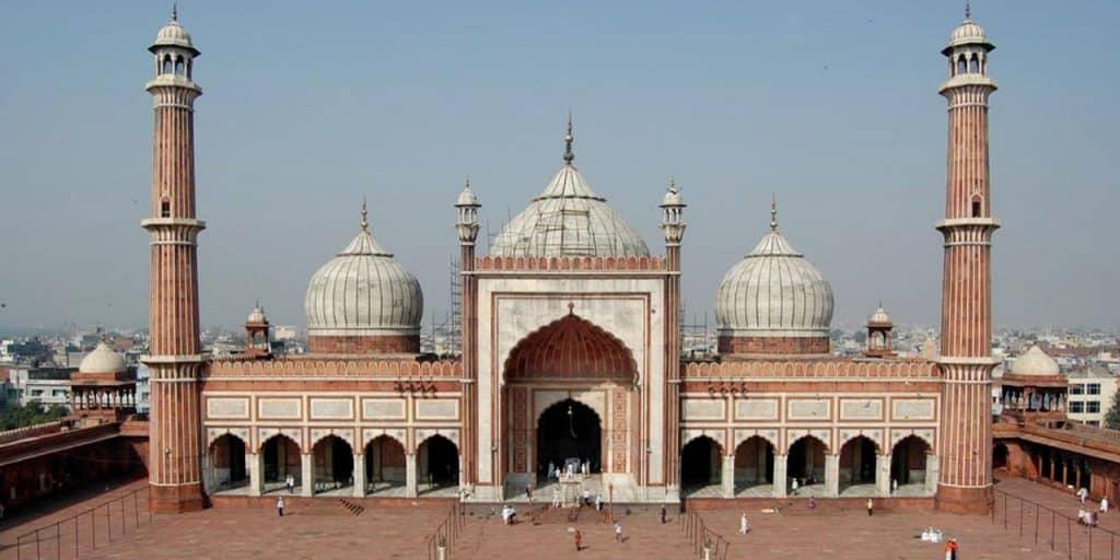 Jama Masjid Pontos Turísticos Índia