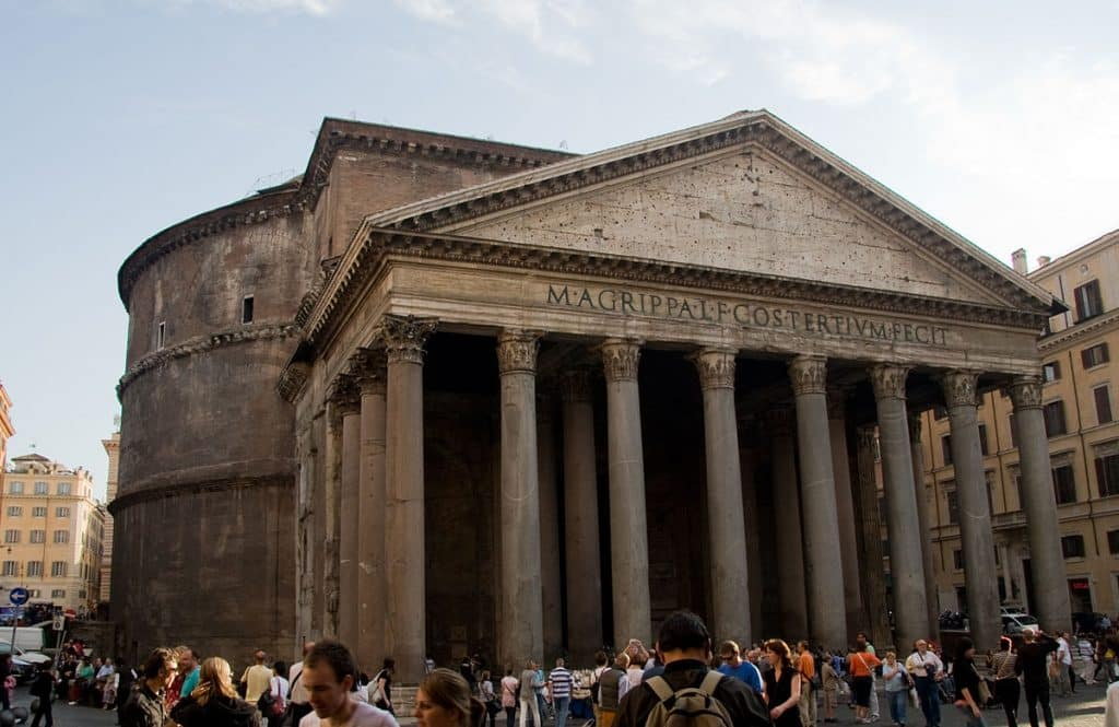 Pantheon Pontos Turísticos De Roma