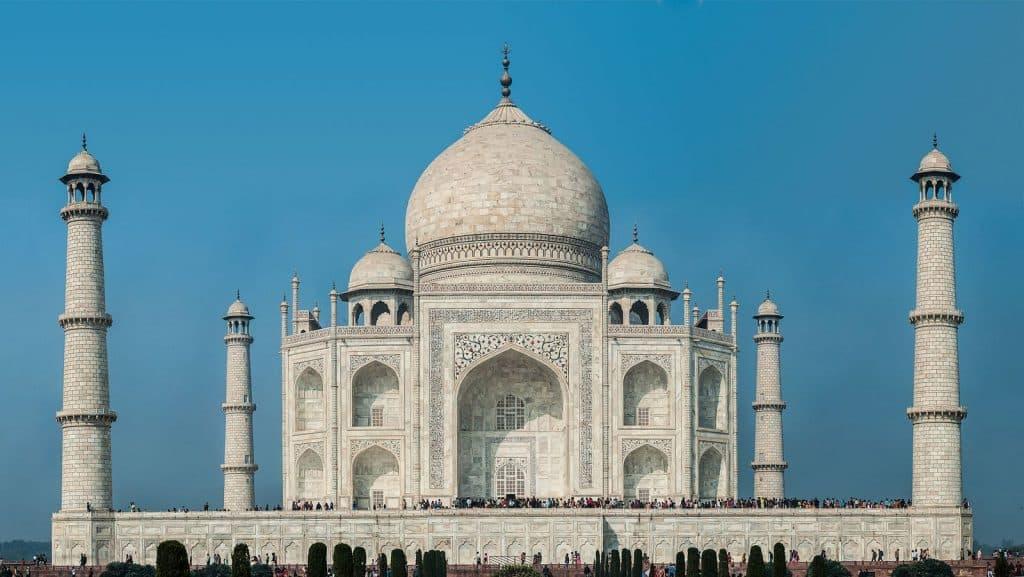 Taj Mahal Pontos Turísticos Índia