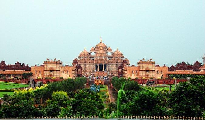 akshardham- pontos turísticos da índia
