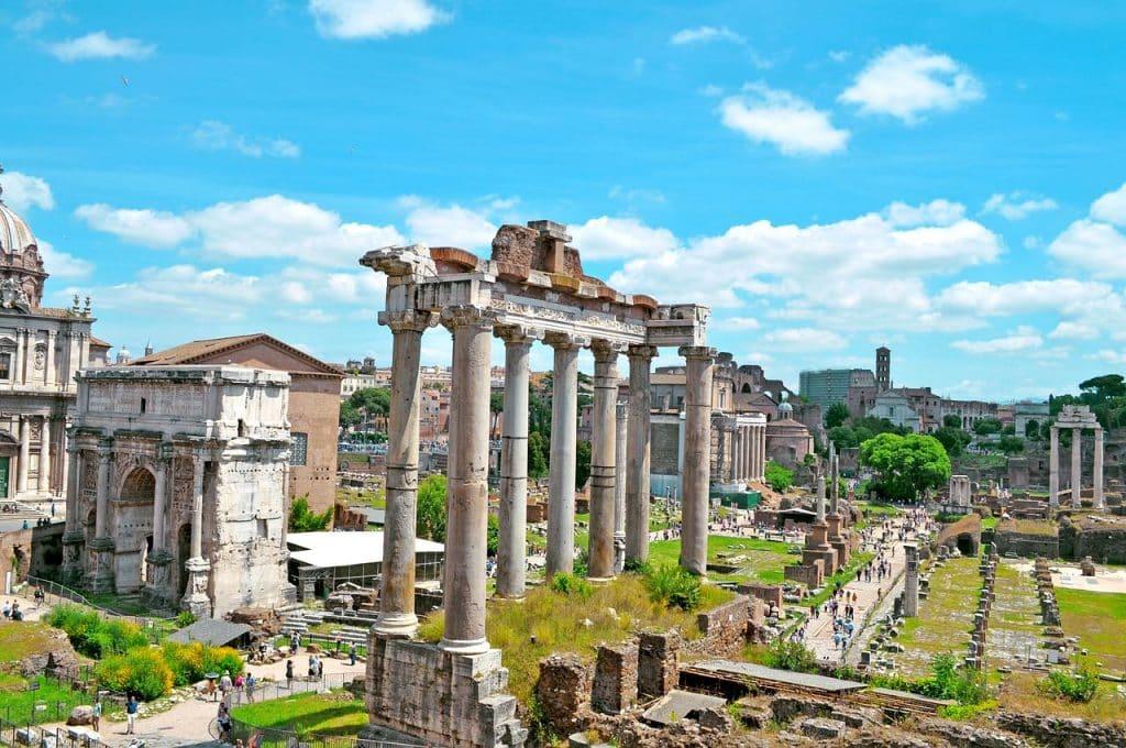 Forum Romano Pontos Turísticos De Roma