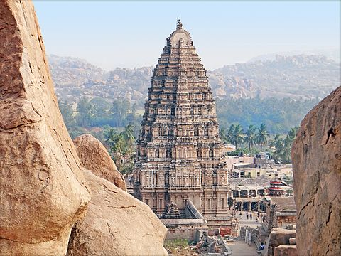 Virupaksha - pontos turísticos da Índia