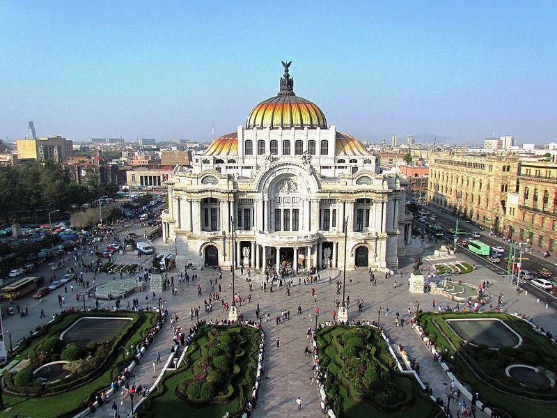pontos turísticos do México palácio de belas artes