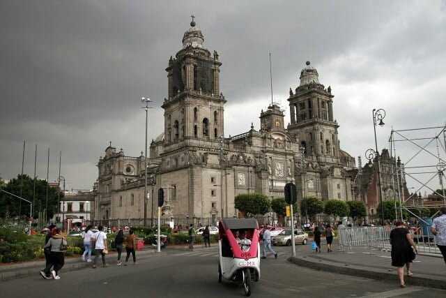 pontos turísticos do México plaza de la constitución