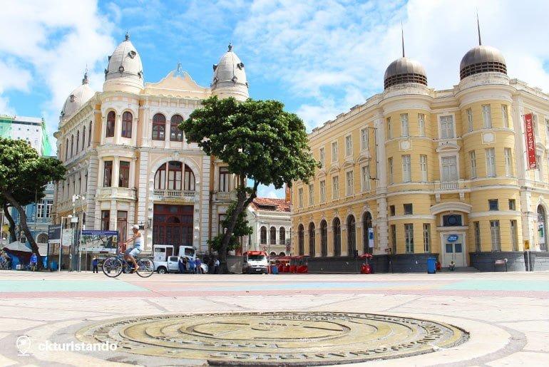 praca-marco-zero-o que fazer em Recife