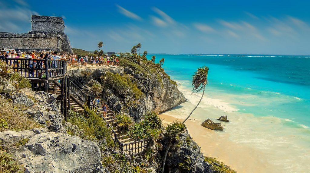 pontos turísticos do México Tulum