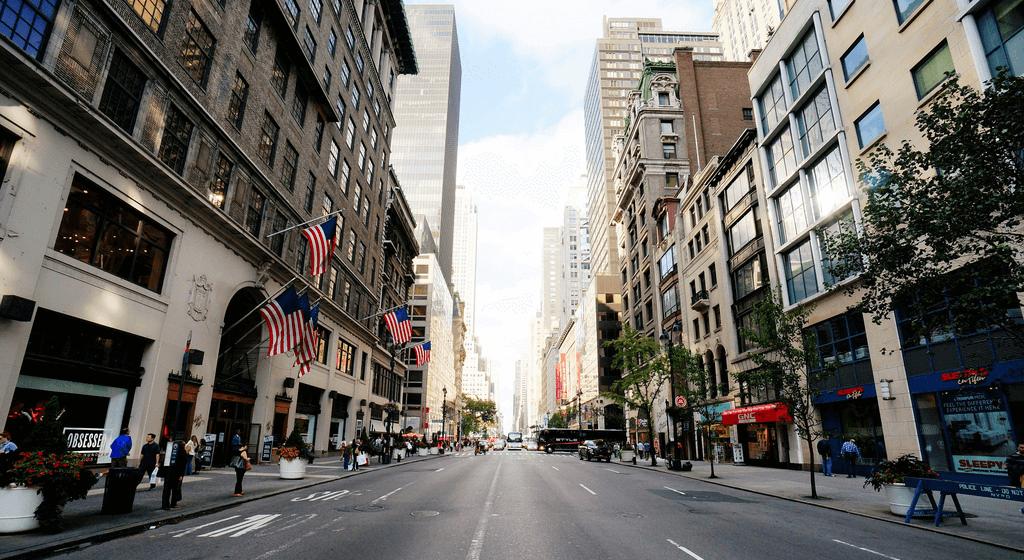 compras em Nova York – 5ª avenida