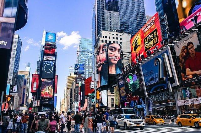 compras em Nova York – Times Square