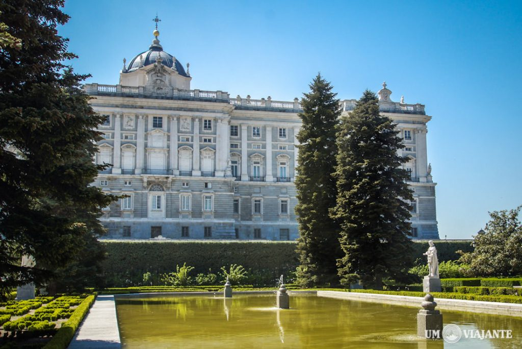 o que fazer em Madri – palácio real