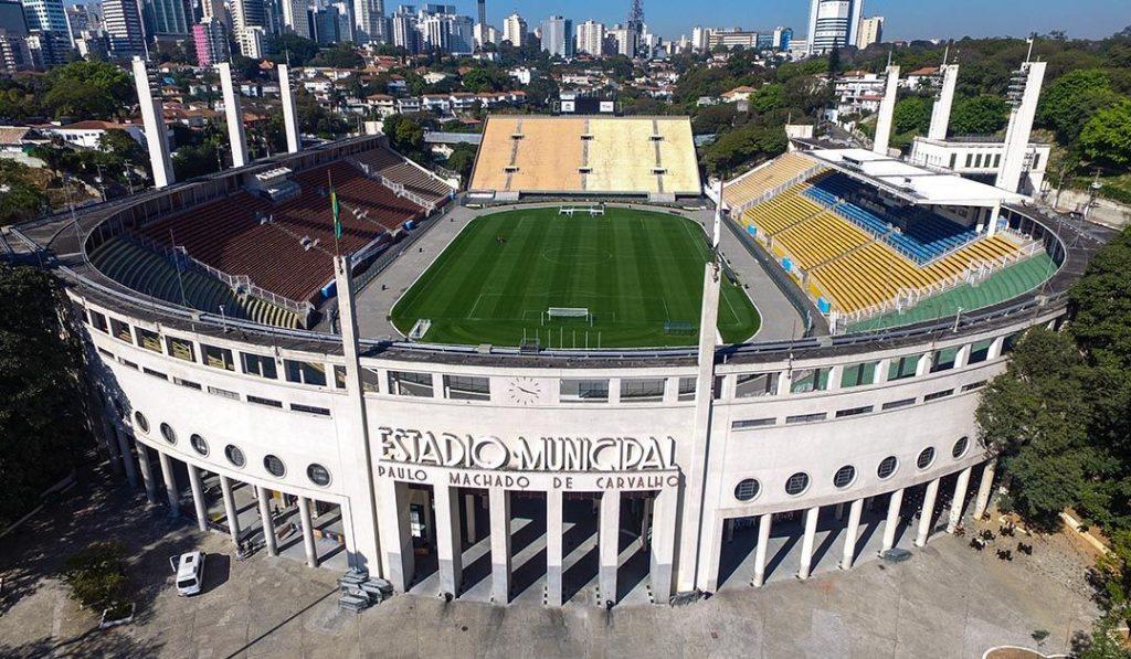 pontos turísticos de São Paulo – estádio do pacaembu