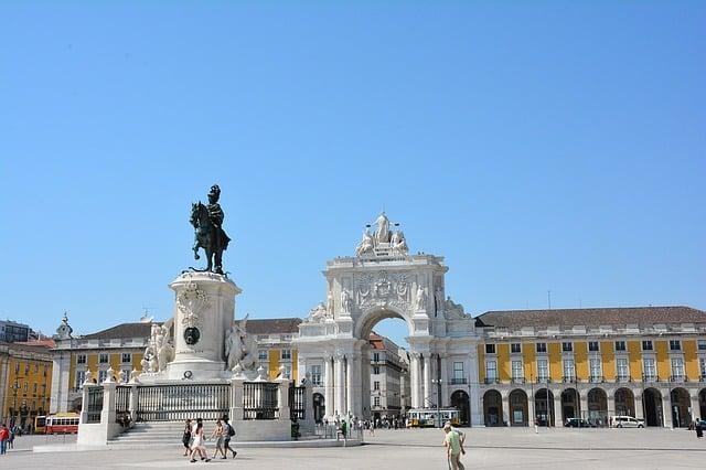 o que fazer em Lisboa - praça comercio