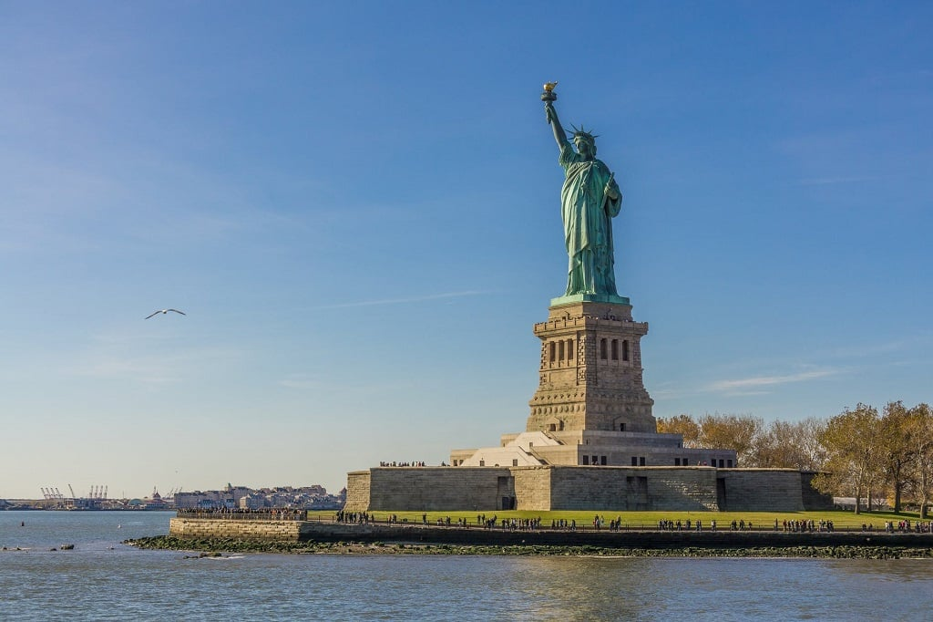 O que fazer em Nova York Estátua da Liberdade Liberty Island
