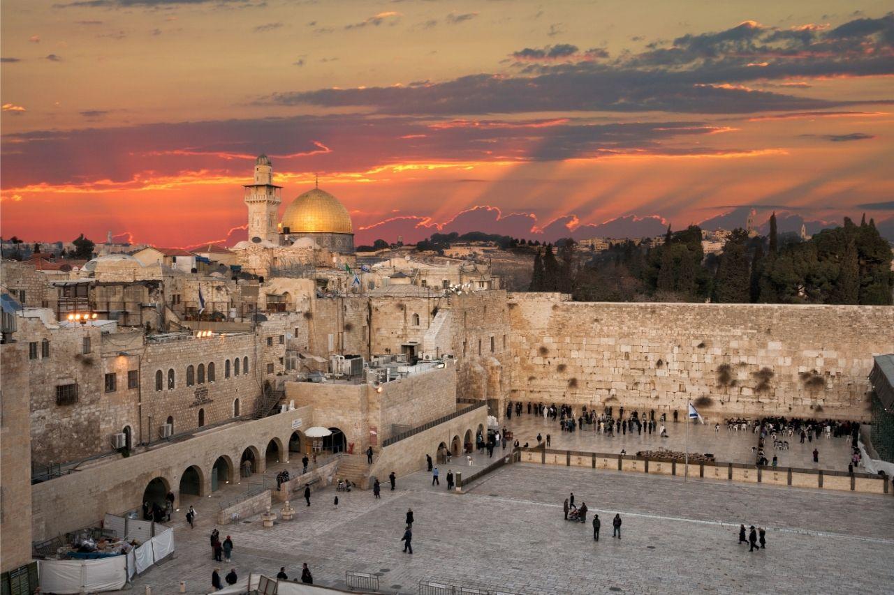 Jerusalem Por Do Sol