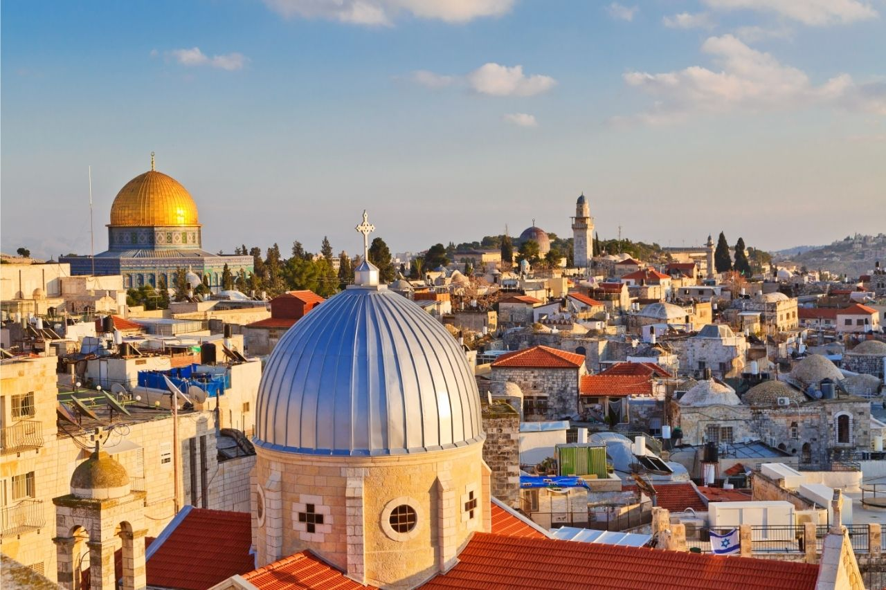 Jerusalem Vista De Cima