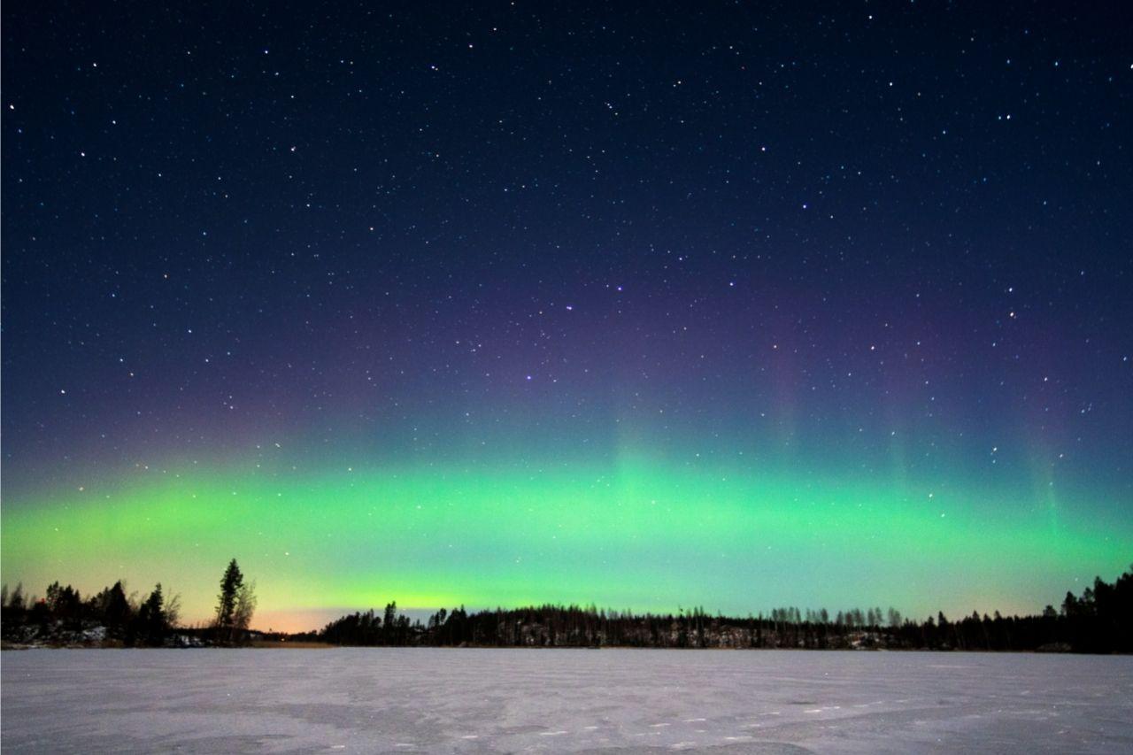 Aurora Boreal Natureza