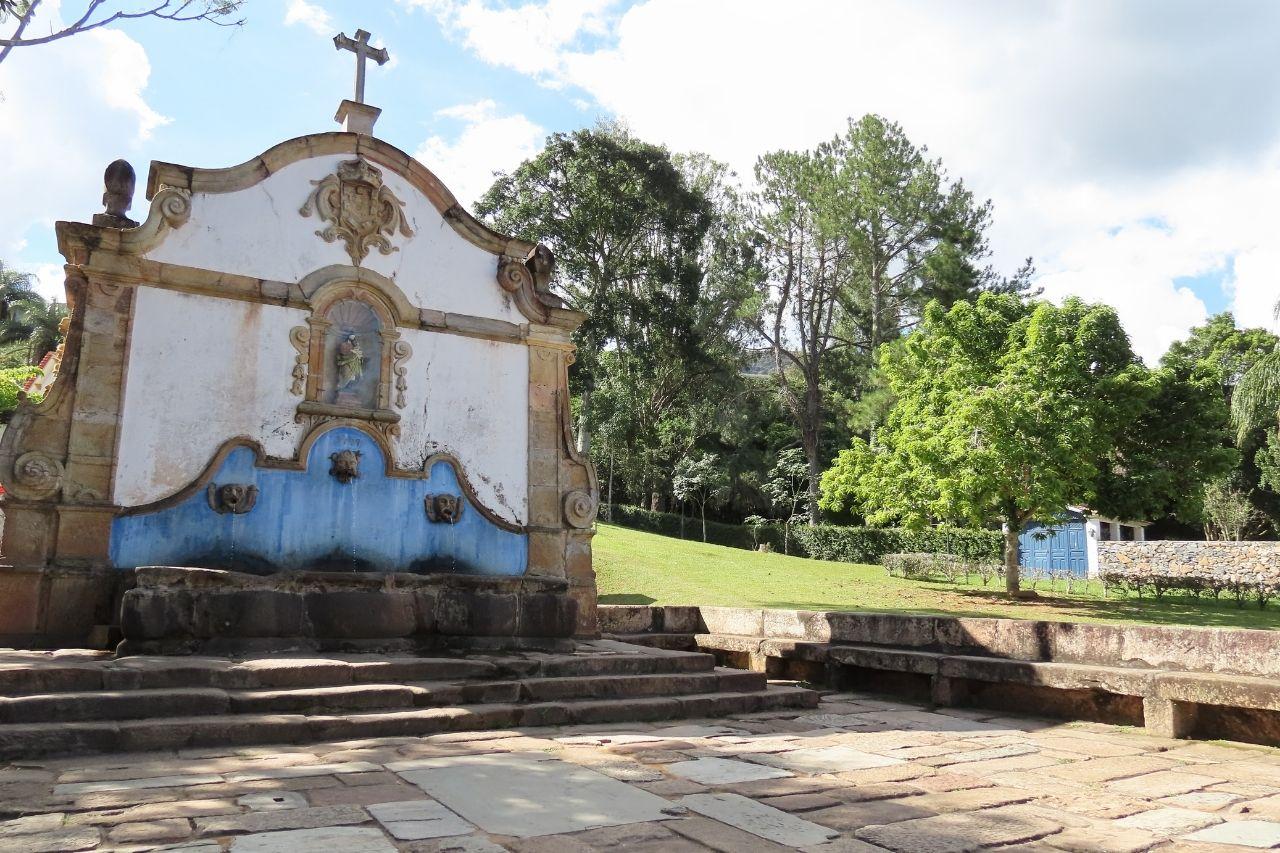 Fonte Na Cidade De Tiradentes