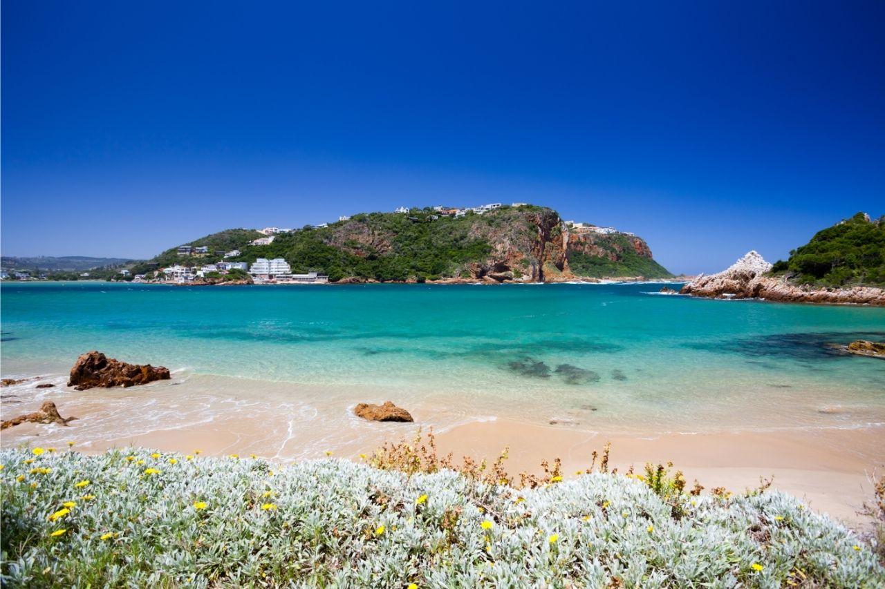 Praia De Knysna Viagem Para A Africa Do Sul